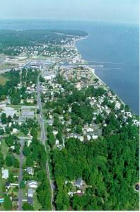 The town of Chesapeake Beach in Calvert County