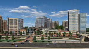 Transit Oriented Development: Bethesda Center, Montgomery County