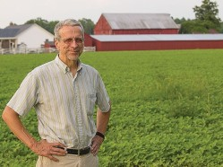 Bowen on his Calvert County farm